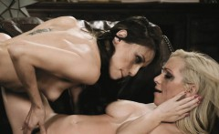 Plenty of mouth watering lesbian action