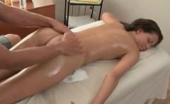 Black masseur fuck petite brunette deep