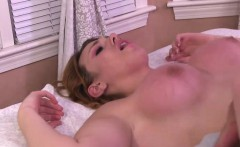 Pretty ts babe Aspen banged in the ass