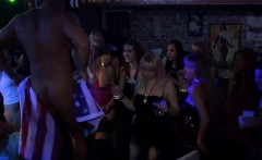 Group-sex patty at night club cocks and pusses each where