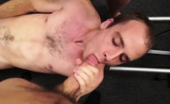 Hot gay ass fucked for cash in the shop