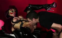 The devil mistress tests her new slave