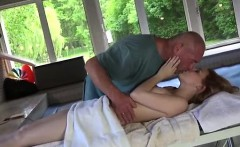 Old man big cock The towel comes off and she demands a whole