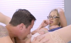 Blonde Doctor Katie Morgan Makes Hung Patient Happy