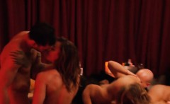 Horny swingers spend all night having passionate orgy sex