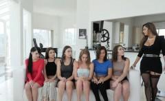 Lesbian teen orgy eat out