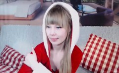 Euro teen christmas celebrate on webcam for you on COMEMYCAM