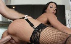 Sexy Pierced Big Tits MILF Kitchen Fucked Rachel Starr