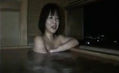 Pretty Japanese babe invites her lover to fuck her pussy fr