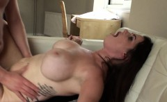 Busty submissive pounded by maledom