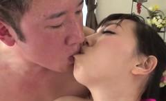 Rough POV fuck show along young Chiemi Yada