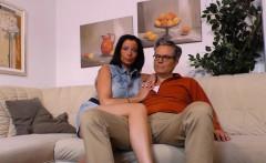 SEXTAPE GERMANY - German newbie makes her first sex tape