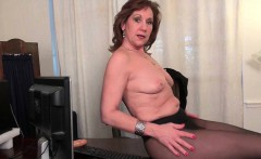 Office grannies Amanda and Penny strip off and play