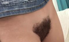 Naughty brunette loves being fucked hard