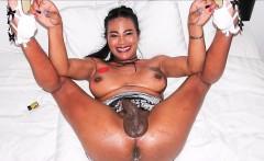 Asian Ladyboy Jasmine Masturbation And Bareback