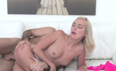 Czech blonde fucked in casting couch