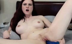 Lustful Redhead Loves To Show Off On Cam