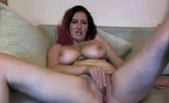 Big Natural Tits Milf Rubbing Her Pussy And Toying Her Ass