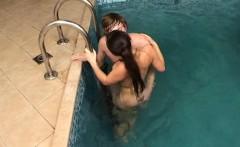 Teen babe receives a hard dick
