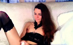 Warm Tiny Tits Camgirl Plays With Her Favorite Sex Toy