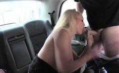 Milf Rebecca Jane fucked a taxi driver
