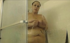 Real Big Beautiful Woman Full Homemade Shower