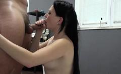 Hot pornstar casting with facial