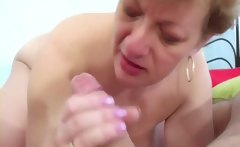 Granny sucking my dick