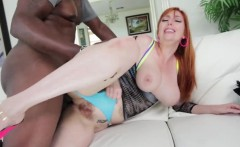 Lauren Phillips pounded by black cock