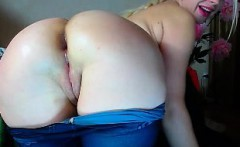 Amateur anal solo blonde riding