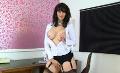 Scottish milf Toni Lace will get you the best deal in town