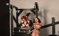 Naughty spanking and sex in dilettante servitude video