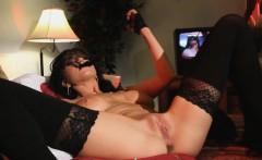 Crush Girls - Romi Rain stuffs her panties in her pussy