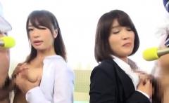 Curvy and breasty japanese beauty loves riding hard cocks