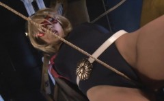 Japanese electro bdsm and extreme asian bondage