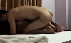 Asian ass eating wife