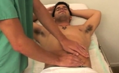 First time gay sex coming video As the doctor wanked me off