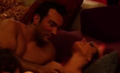 Smoking hot babes playing with big dicks
