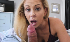 Hot cougar Cherie Deville loves stepsons dick