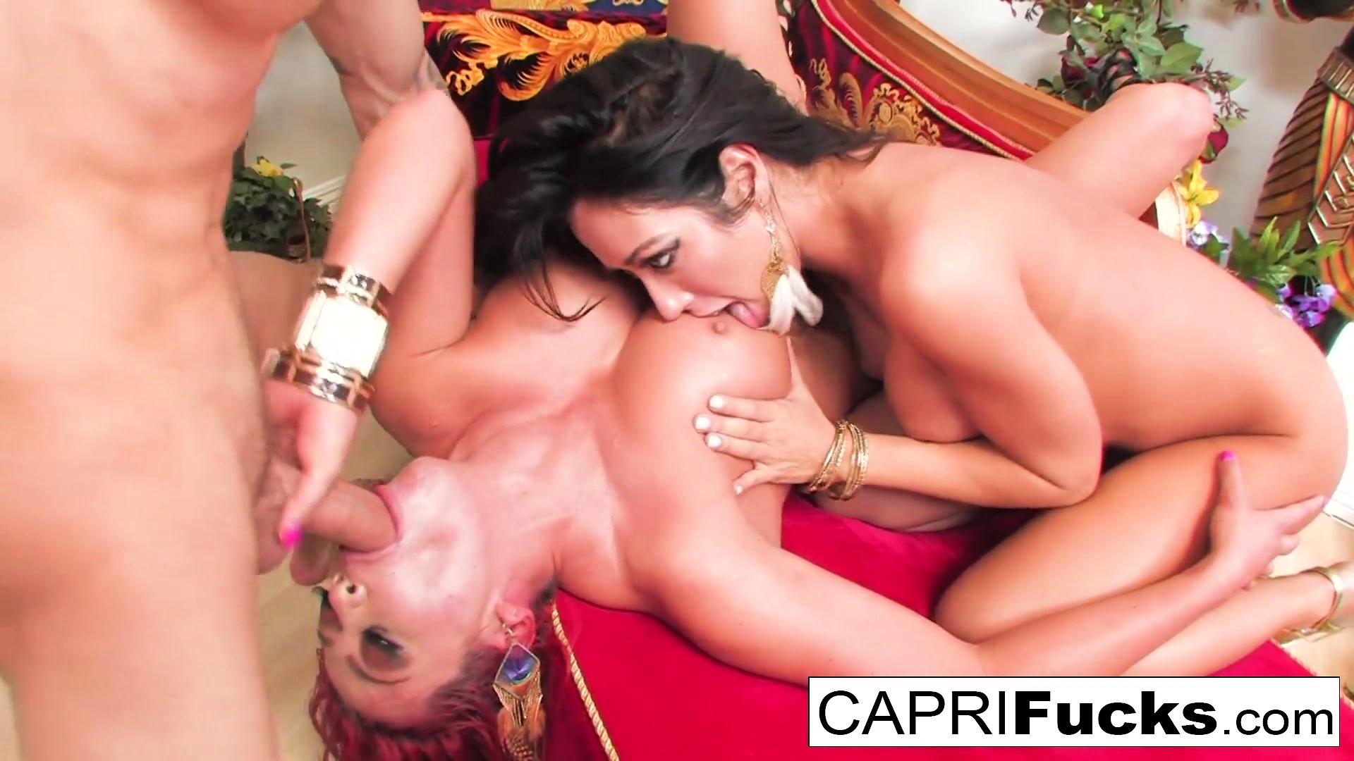 Capri And Mia Decide To Have A Threesome