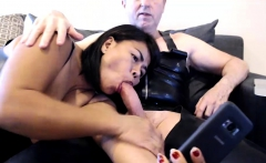 Mature Asian Zorro Blowjob