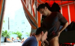 Gay public porn parker xxx Even with the people tanning righ