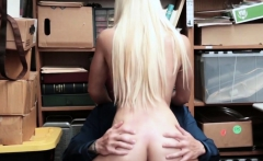 Amazing babe gets to ride fat dick