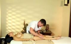 Massaged bigtits amateur drilled on spycam