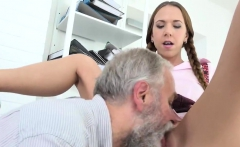 Sultry schoolgirl is teased and reamed by older instructor16