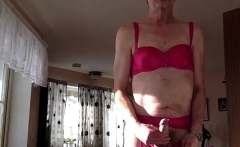Homemade solo gay masturbation clip