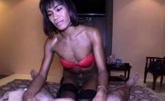 Thai Shemale Nutty Fucked Bareback