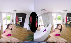 RealityLovers VR - Cheerleader gets nailed by Stepdad