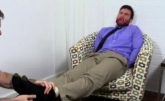 Gay sex movies xxx Chase LaChance Tied Up, Gagged & Foot Wor