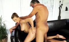 DADDY4K. Dude catches attractive girlfriend making love...